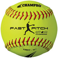 "Champro Sports Recreational Fast Pitch Softball - 11"" - Dozen"