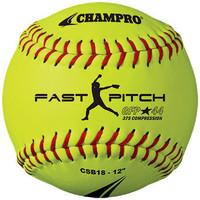 """Champro Sports Recreational Fast Pitch Softball - 12"""" - Dozen"""