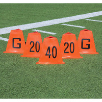 Flag Football Stackable Sideline Markers Set