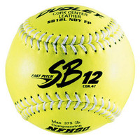Dudley SB-12L 12'' Softballs - White Seams