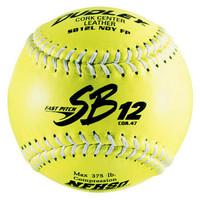 Dudley SB-12L 12'' Softballs - White Seams