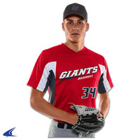 Champro Relief V-Neck Baseball Jersey