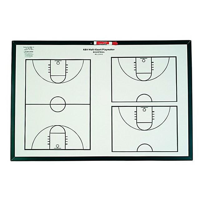 KBA Multi-Court Basketball Playmaker Whiteboard