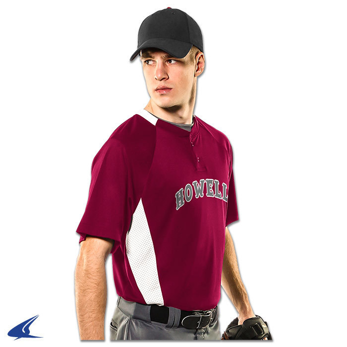 Champro Clean-Up 2-Button Baseball Jersey