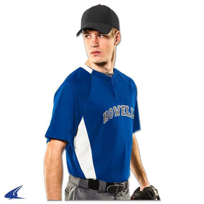 Champro Clean-Up 2-Button Baseball Jersey