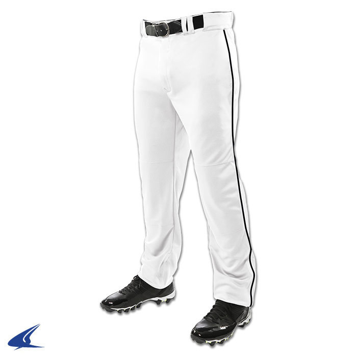 Champro Triple Crown Open Bottom Baseball Pants with Piping