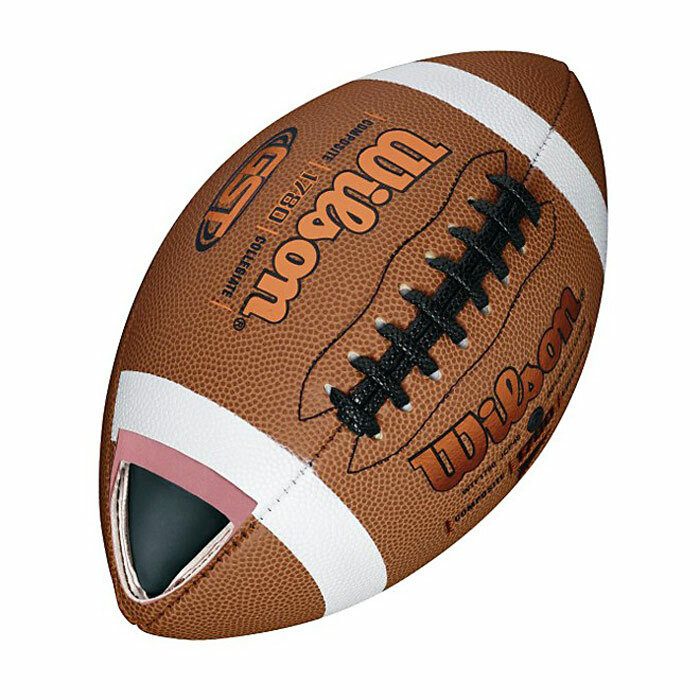 Wilson GST Composite Football - Official (WTF1780)