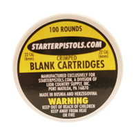 Crimped Blank Ammo