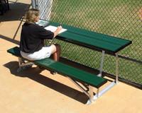 MacGregor Scorer's Table with Bench (BEST08XX)