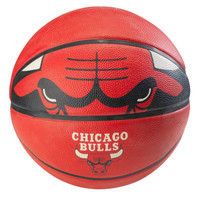 Spalding NBA Team Rubber Basketball - Chicago Bulls