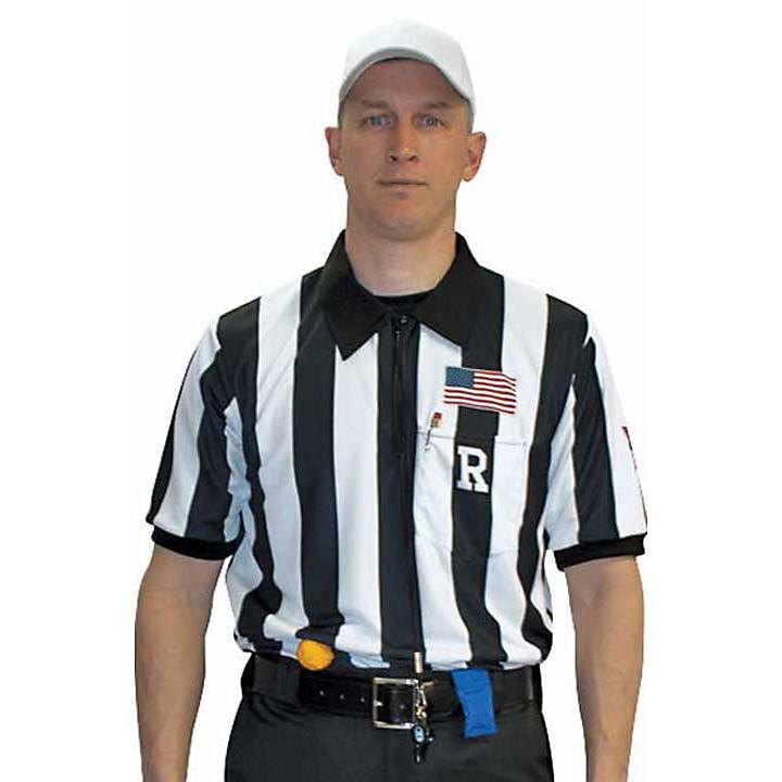 Cliff Keen MXS Sublimated Short Sleeve Football Ref Shirt