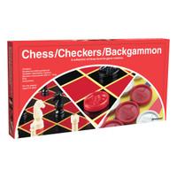 Pressman Chess/Checkers/Backgammon Set