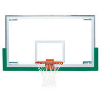 "Bison BA42XL Unbreakable 42'' x 72"" Short Glass Basketball Backboard"