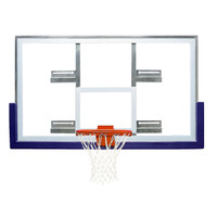 Bison BA42XLC 42″ x 72″ Short Glass Conversion Backboard