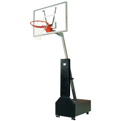 Bison BA833 Club Court Acrylic Adjustable Basketball System