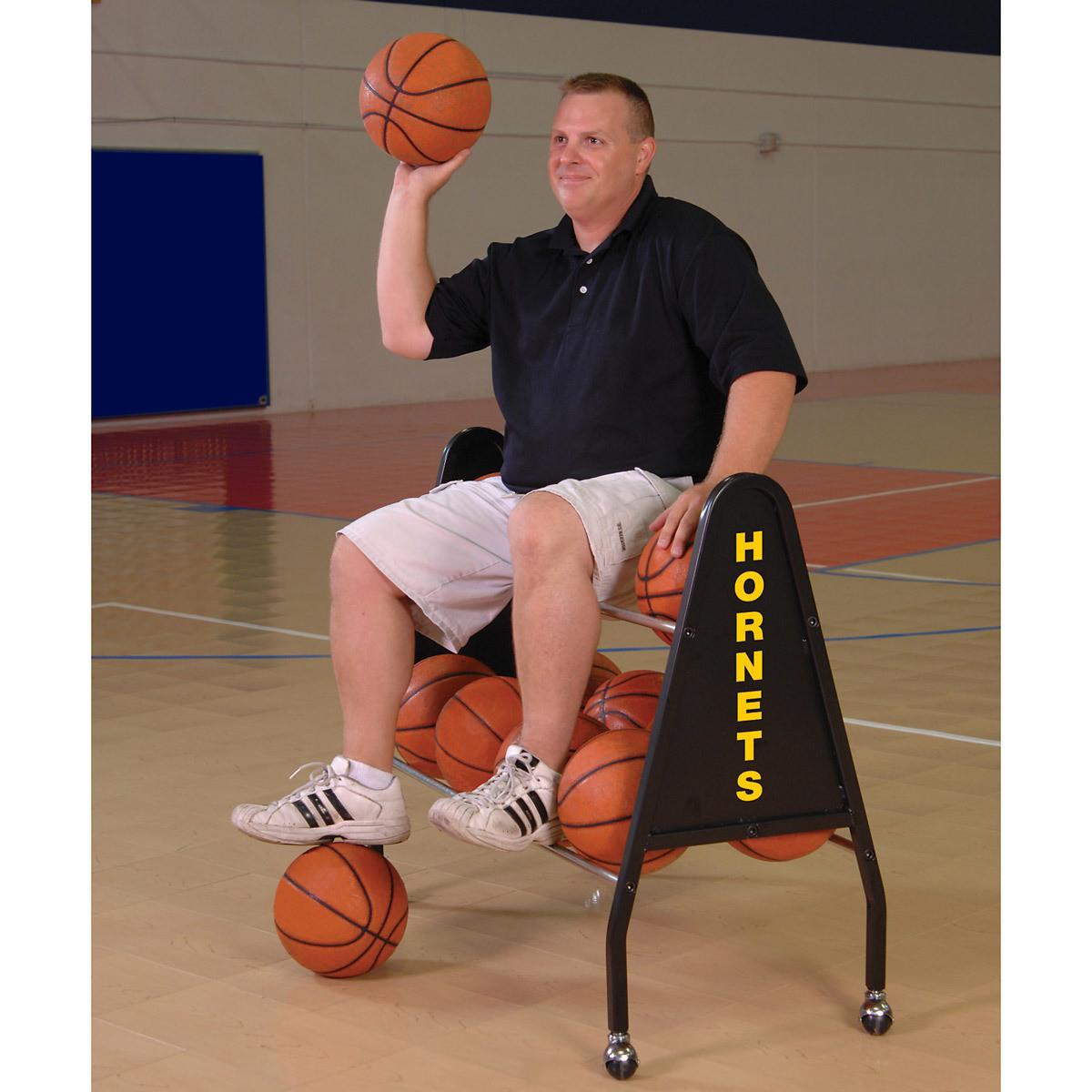 Bison Heavy Duty 12 Ball Cart