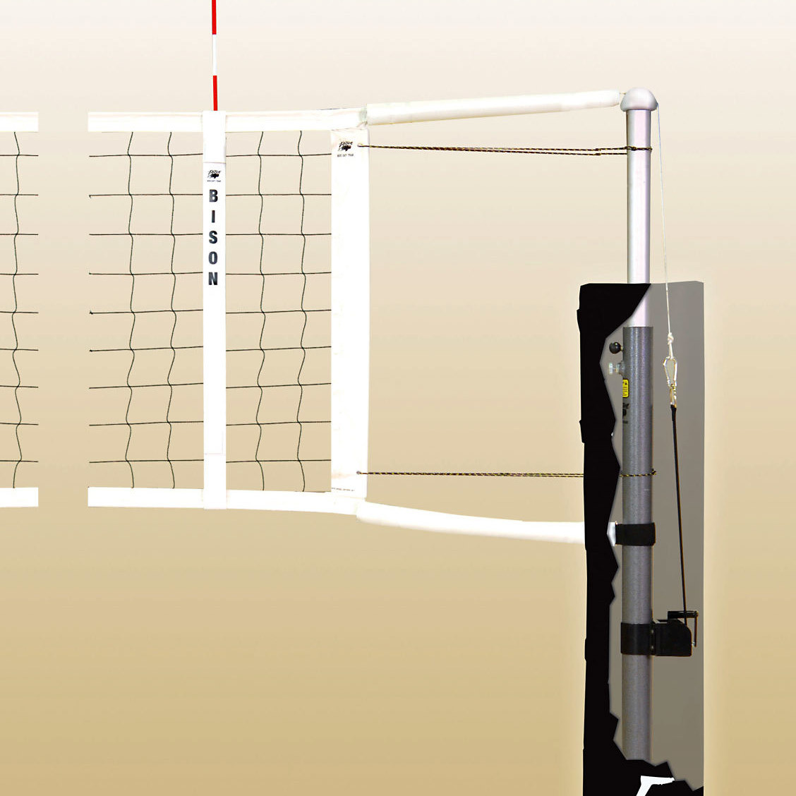 Bison Centerline Elite Aluminum Volleyball System