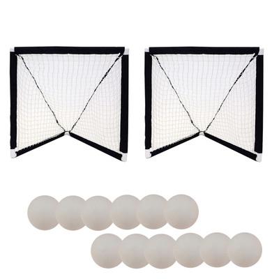 Champion Sports Mini Lacrosse Goals and Foam Ball Set