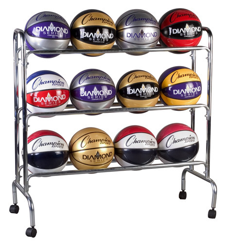 Champion Sports 3 Tier Basketball Rack