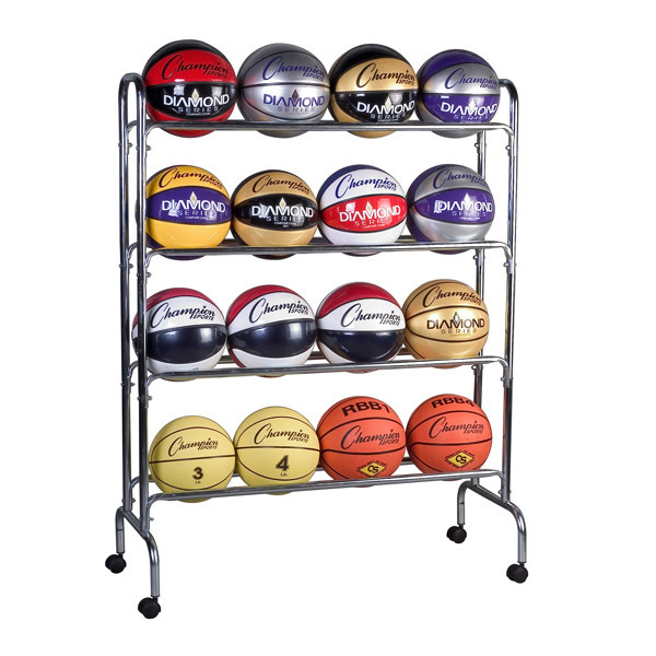 Champion Sports 4 Tier Basketball Rack