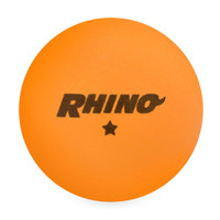 Champion Rhino 1 Star Table Tennis Balls - Orange