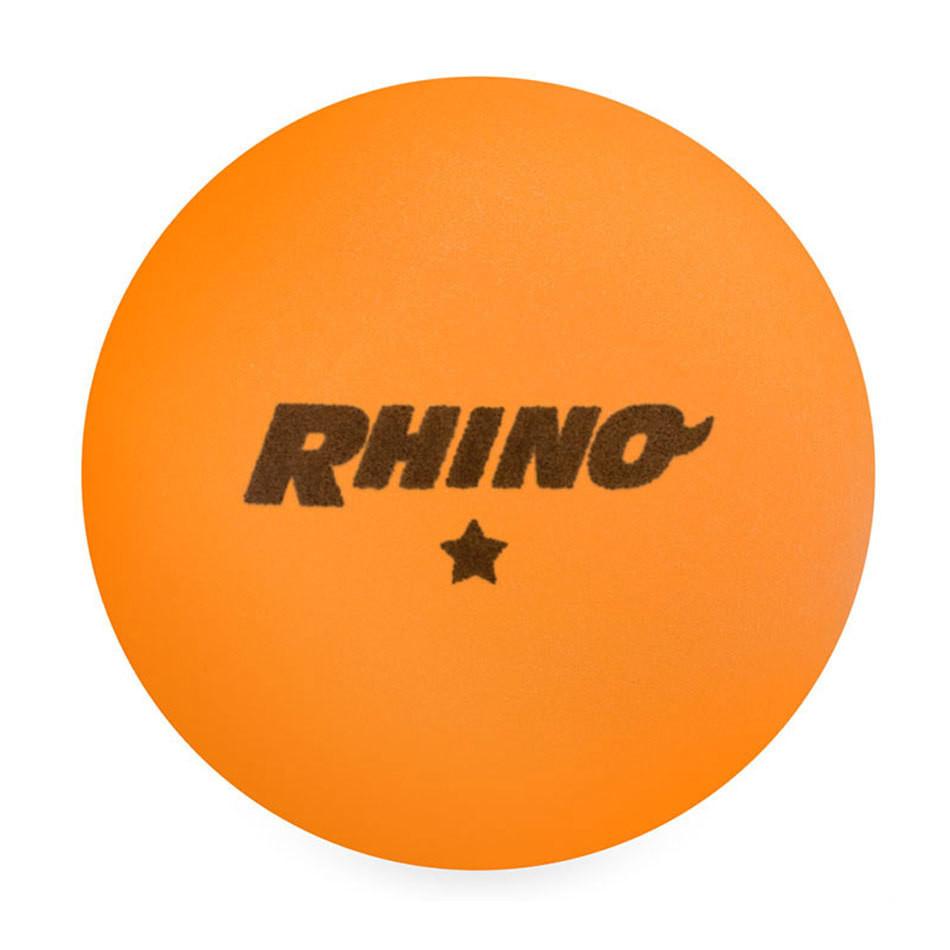 Champion Rhino 1 Star Table Tennis Balls - Orange