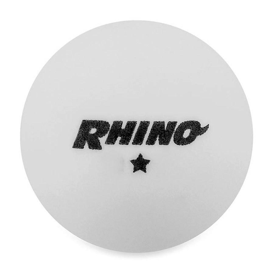Rhino 1 Star Table Tennis Balls - 38 Ball Box