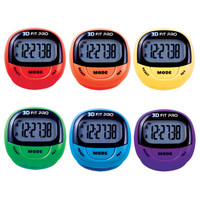 Champion Sports 3D Fitpro Pedometer Set