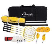 Champion Sports Deluxe Badminton Tournament Set