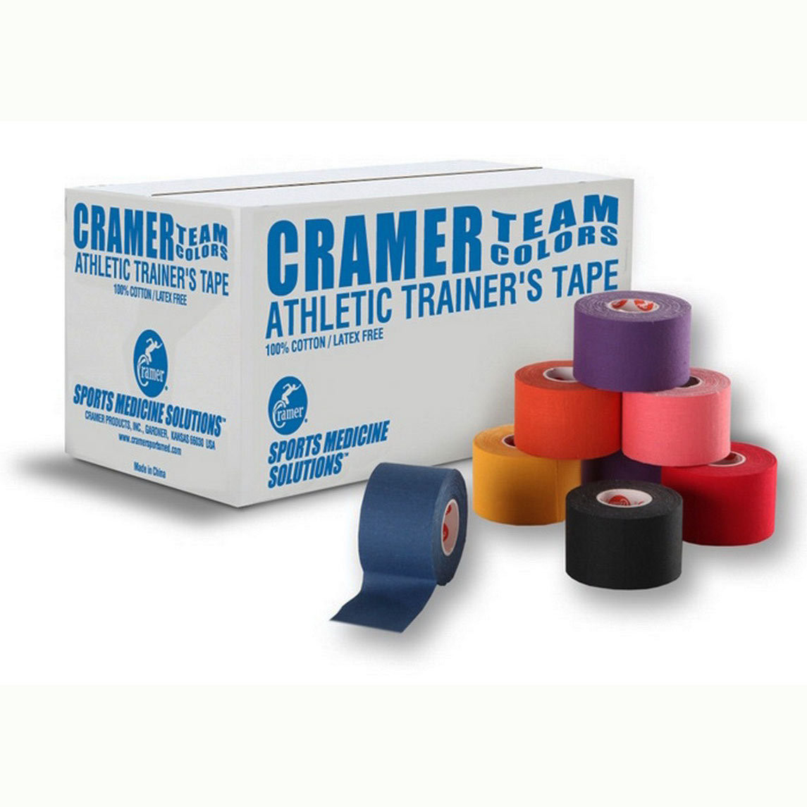 2006691ae316 Cramer 750 Colored Athletic Tape - Case - Athletic Stuff
