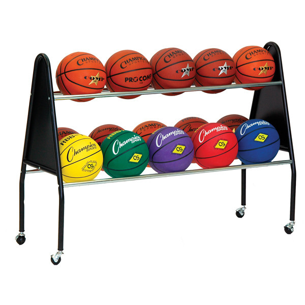 Champion Sports Deluxe 15 Ball Cart