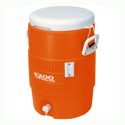 Igloo 5 Gallon Water Cooler - Orange