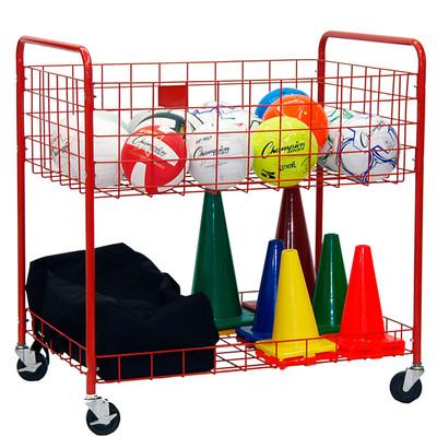 Champion Sports Two Tier Storage Cart