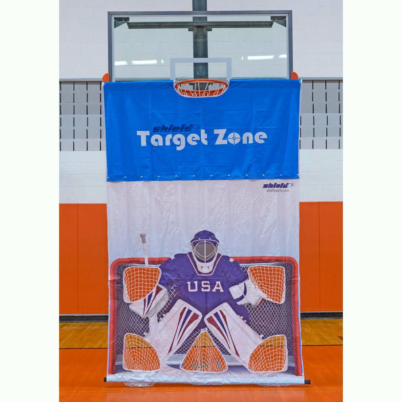 Shield Target Zone - Hockey