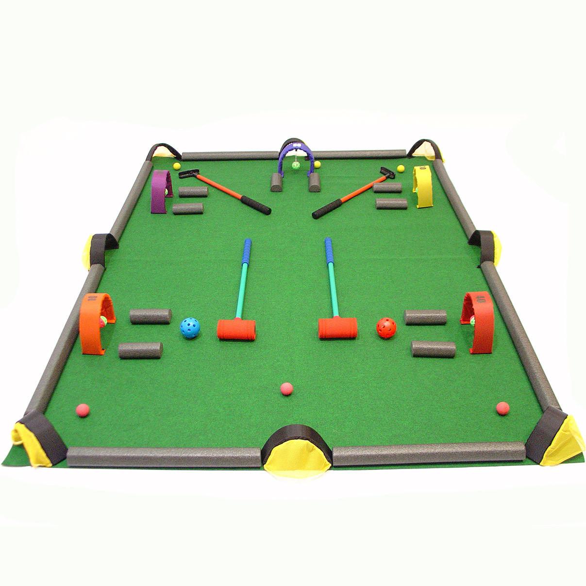 Golf / Croquet / Billiards Game Set