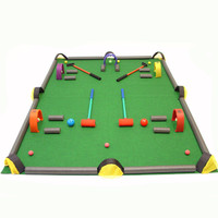 Golf / Croquet / Billiards Game Set