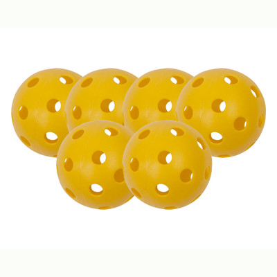 Champion Sports Outdoor Pickleball Set of 6