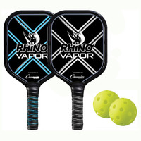 Rhino Vapor 2 Player Aluminum Pickleball Set
