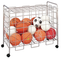 Champion Sports Economy Locking Ball Cart