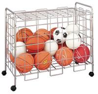 Champion Sports Economy Locking Ball Cart