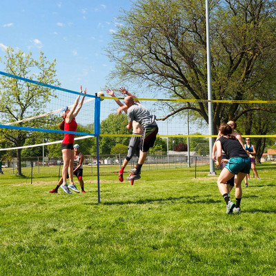 Park & Sun Tri-Ball Sport Volleyball Set