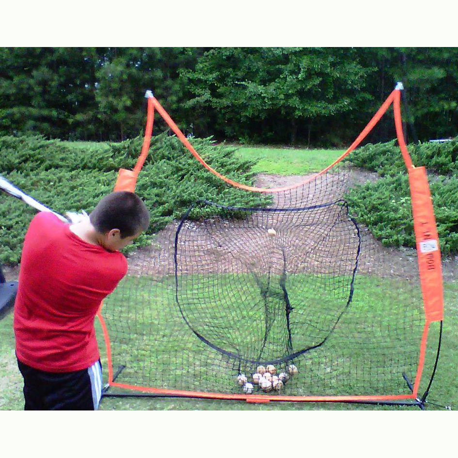 The Original Bownet Big Mouth Portable Hitting Net