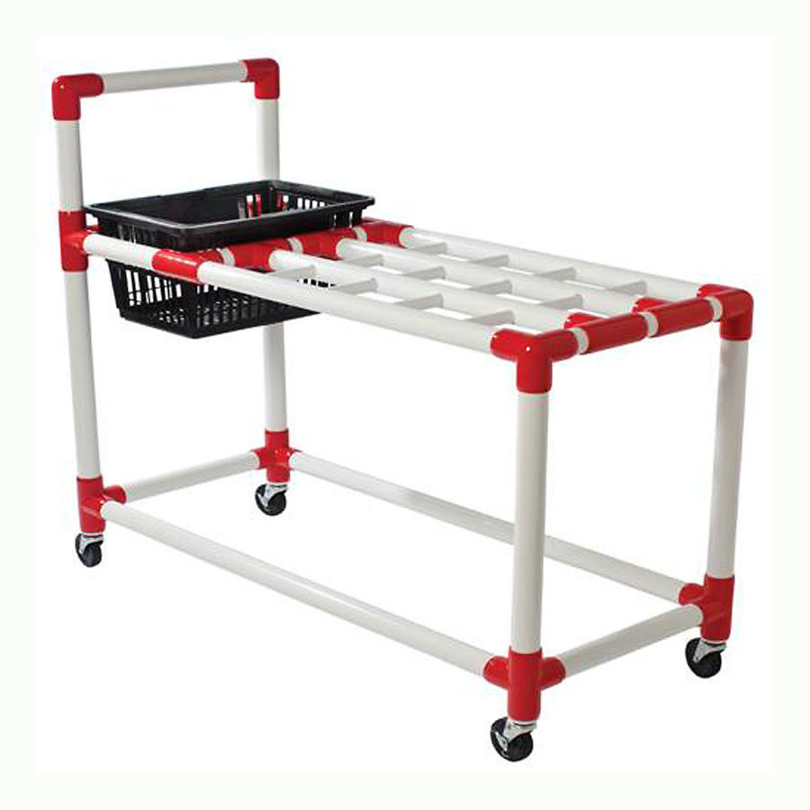 Racquet Equipment Storage Cart