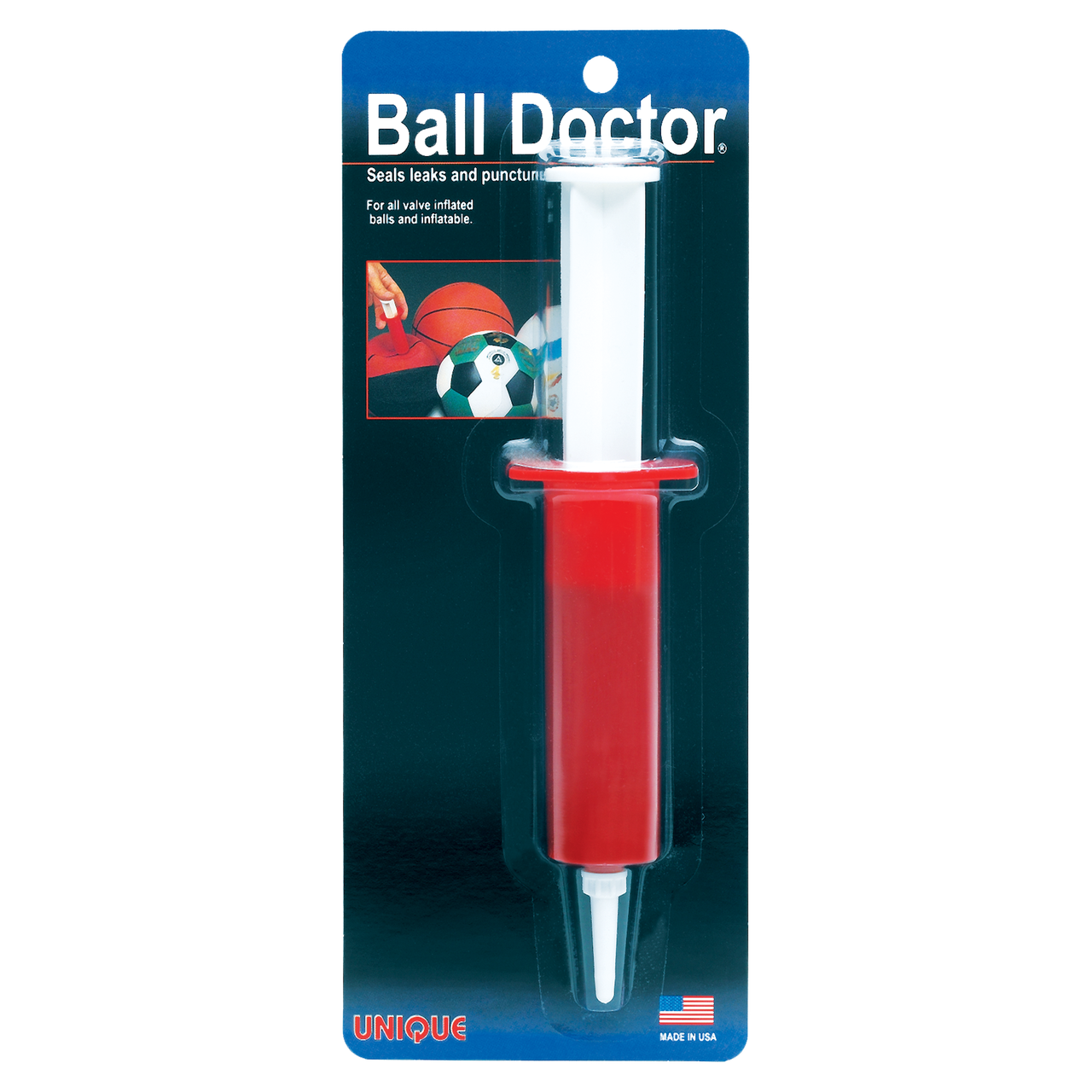 Ball Doctor - Seals Leaks and Punctures