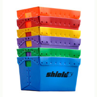 Shield Rainbow Storage Bin Set
