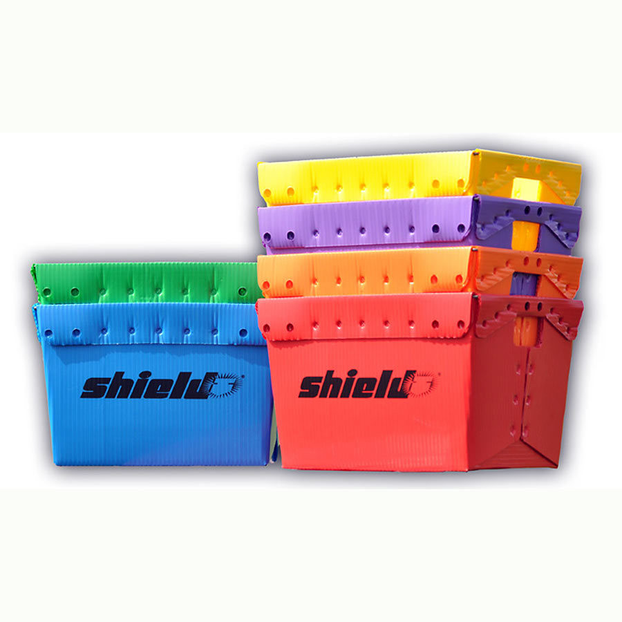 Shield Rainbow Storage Bin Set