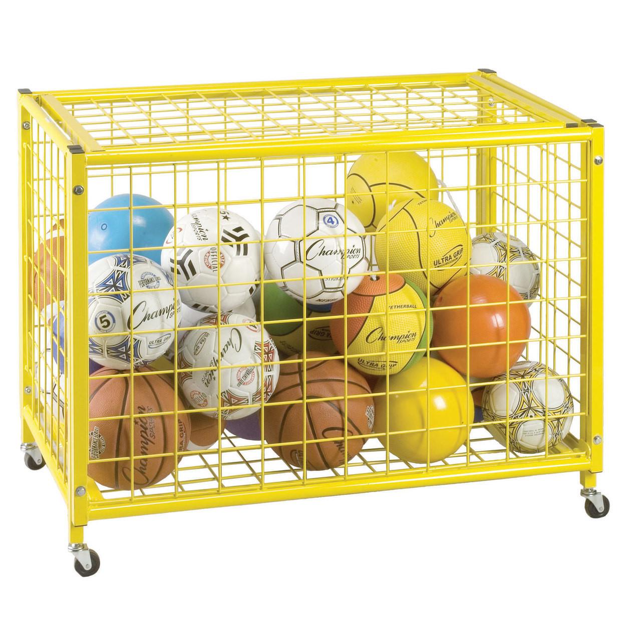 Big Yellow Locking Ball Cart (LRCL)