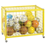 Big Yellow Locking Ball Cart (LRCL)