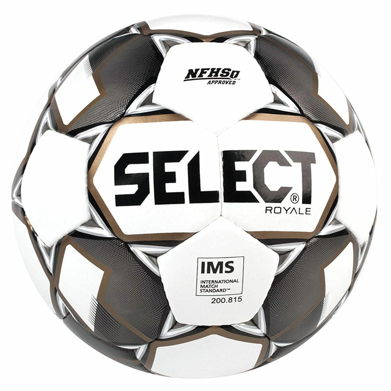 Select Royale Soccer Ball Black