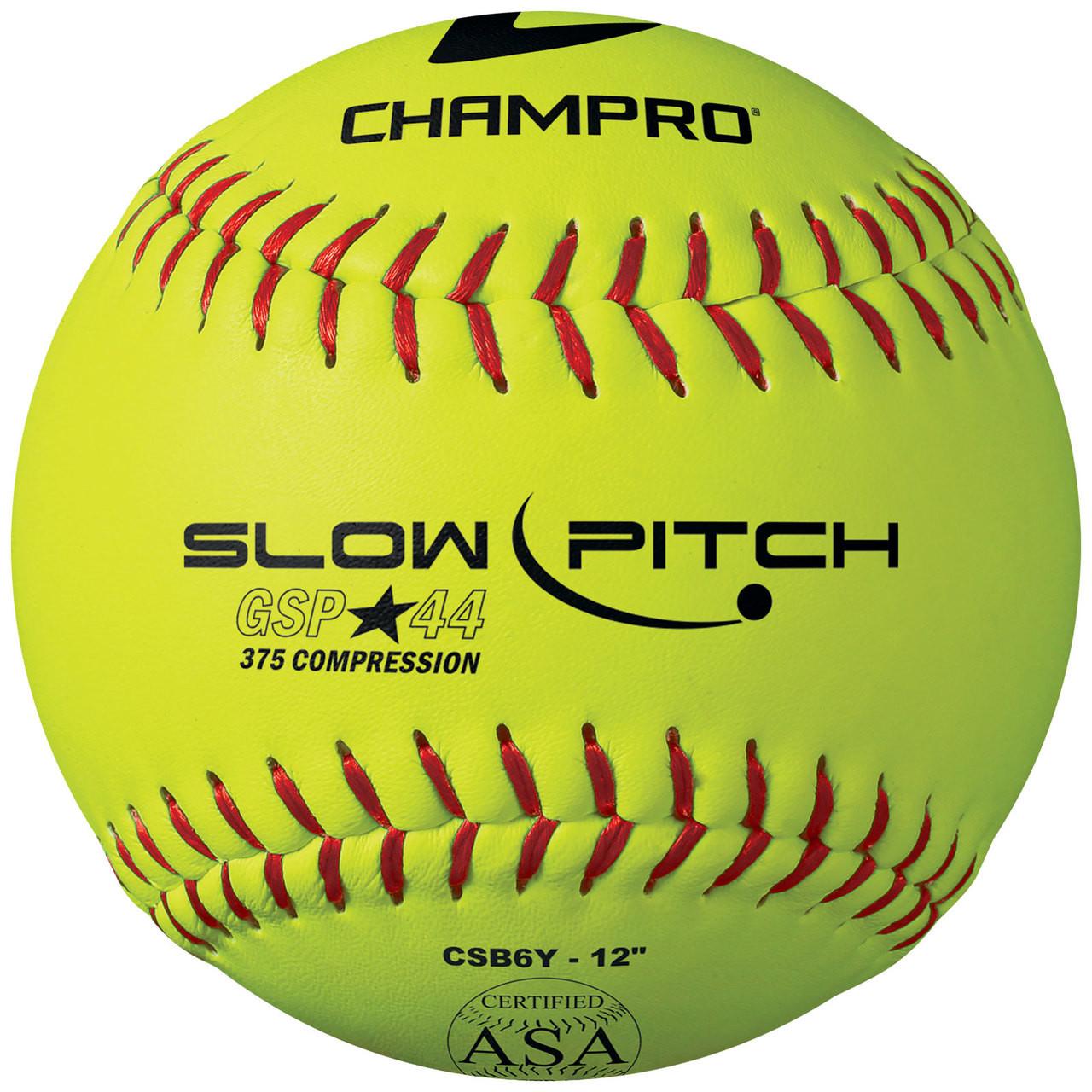 "Champro ASA 12"" Slowpitch Softballs"